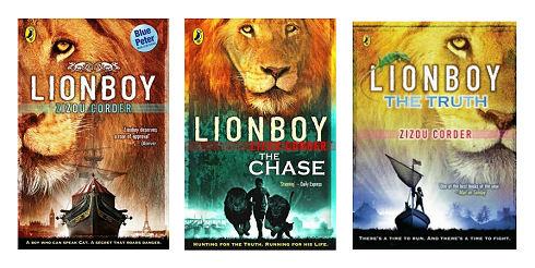 Lionboy Series by Zizou Corder