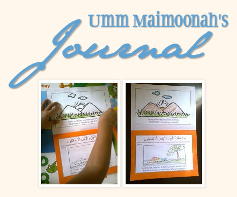 Umm Maimoonah's Journal