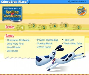 Houghton Mifflin Spelling & Vocabulary Activities